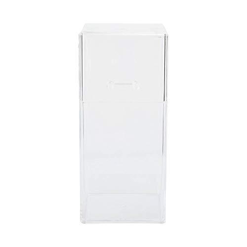 Soporte de cosméticos práctico resistente al agua y al polvo, caja de almacenamiento de acrílico, tienda de manicura, salón de belleza para la tienda de salón en casa(Acrylic storage tube)