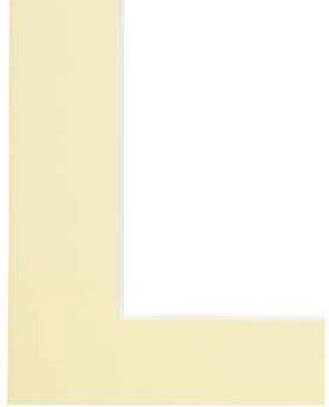 Hama Premium Passepartout, Vanilla, 50 x 60 cm Amarillo - Marco (Vanilla, 50 x 60 cm, Amarillo)