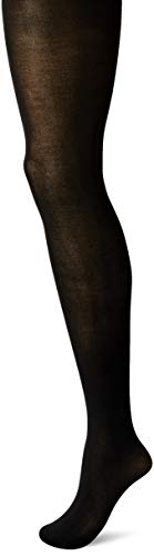 Hanes Silk Reflections Women's Plus Size Curves Opaqure Tights HSP005, Black, 3X/4X