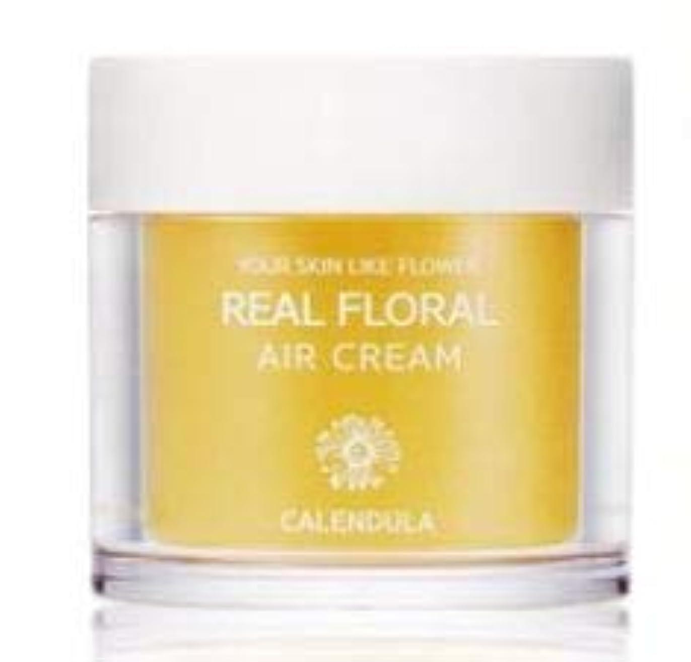 王朝登山家何でもNATURAL PACIFIC Real Floral Air Cream 100ml (Calendula) /ナチュラルパシフィック リアル カレンデュラ エア クリーム 100ml [並行輸入品]