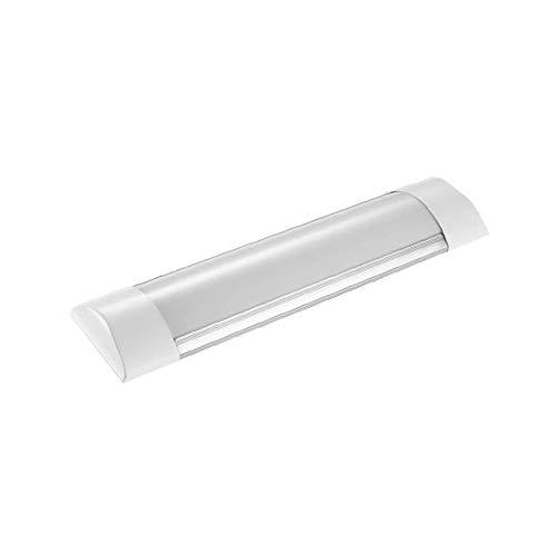 1FT 2800-3200K Daylight Batten Light LED Linear Wide Tube Ceiling Lights for Indoor Use IP20, 10Watt Warm White