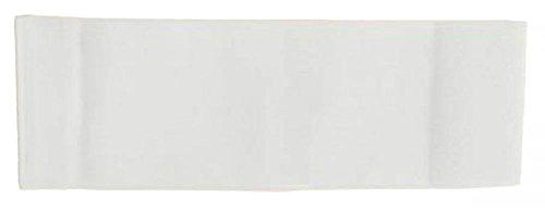größenverstellbare Armbinde/Mediaband bedruckt mit IHREM INDIVIDUELLEM TEXT (SENIOR 25-36 cm) (Farbe weiss)