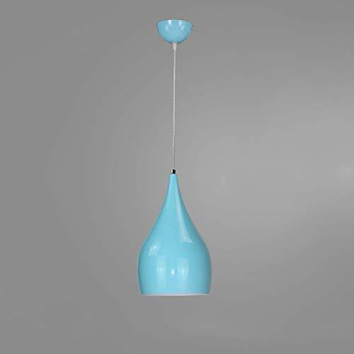 Modern design kroonluchter, enkele hoofd licht E27 Base hanglampen, restaurant plafondlampen (kleur: wit)