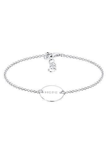 Elli Armband Hope-Schriftzug 925 Sterling Silber