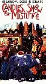 Candles Snow & Mistletoe VHS