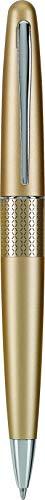 PILOT Metropolitan Collection Ball Point Pen, Gold Barrel, Zig-Zag Design, Medium Point, Black Ink (91303)