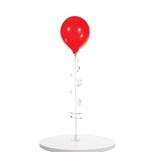 PermaShine - Reusable and Helium Free Single Balloon Kit - Permanent Plastic Indoor and Outdoor Balloons