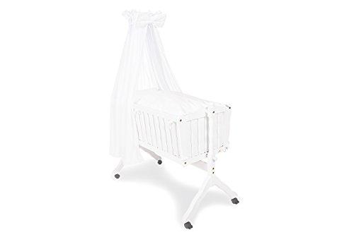 Pinolino 63890-0 - Textile Ausstattung für Wiegen  weiß/voile