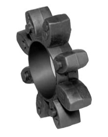 Toothed Ring (Coupling Spider) 98 Shore A red size 24 for Couplings RNH and RNK backlash-free