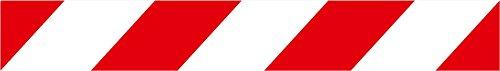 Normaluz RD80111 - Cintas de Balizamiento Cinta Para Acordonar Balizamiento Plastico 5 cm x 100 m x 0,03 mm