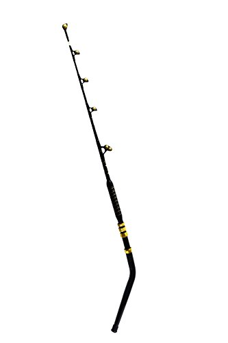 EatMyTackle Bent Butt Saltwater Fishing Rod | Blue Marlin Tournament Edition (140-160lb)