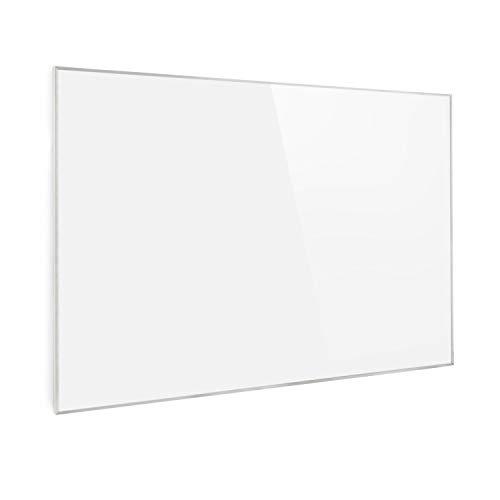 Klarstein Wonderwall Air 96 Infrarotheizung, 120 x 81 cm, 960 W, Carbon Crystal Infrared, IR ComfortHeat, ZeroNoise Infrared, OpenWindow Detection, ideal für Allergiker, Thermostat, weiß