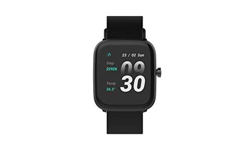 Oferta de Smartwatch, Reloj Inteligente Urban Scout con función Salud, 24 H Termómetro, frecuencia Cardiaca, Seguimiento Actividad Diaria, Calidad de sueño Resistencia al Agua IP68.
