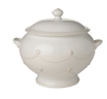 Juliska Berry & Thread Whitewash Soup Tureen (4.5 Quart)