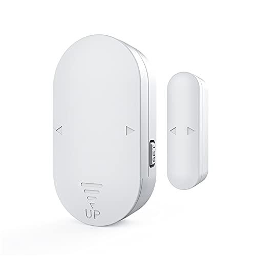 Alarma de sensor de puerta y ventana, alarma de sensor magnético inalámbrico, alarma de robo 130DB, alarma de puerta de 5 modos, para el hogar, garaje, negocios, hotel, apartamento, oficina