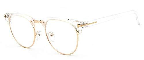 8bayfa Zonnebril Medium Metalen Bril Voor Vrouwen Frame Voor Heren Bril Frame Vintage Bril Vierkante Bril Optische Bril Bril Bril transparant goud