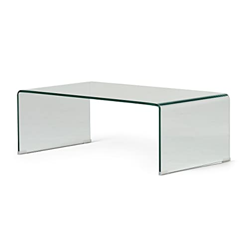 Christopher Knight Home Pazel 12mm Tempered Glass Coffee Table, Clear
