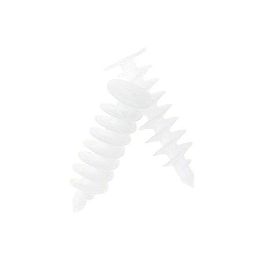 Chrispol 10 Stück XXL Styropor-Dübel 125mm Dämmstoff-Dübel Fassadendübel WDVS Dämmplatten Briefkasten-Dübel Befestigung