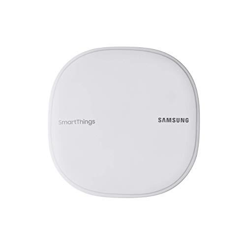 Samsung SmartThings Wifi Mesh Router Range Extender SmartThings Hub Functionality Whole-Home WiFi Coverage - Zigbee, Z-Wave, Cloud to Cloud Protocols - White (Single) (Renewed)