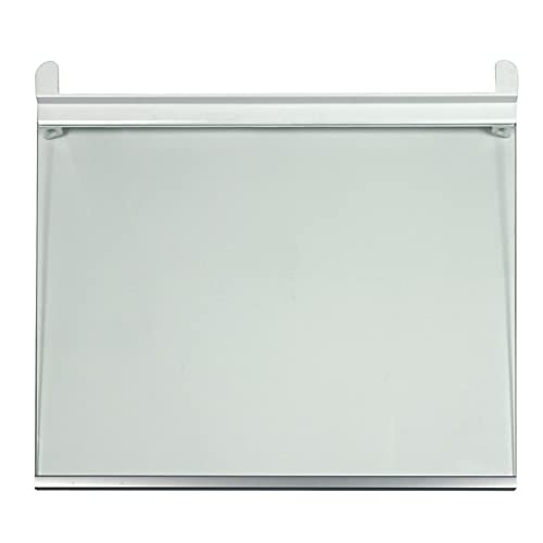 LG Electronics AHT73595701 ORIGINAL Bodenplatte Glasfach Glasablage Ablage Bodenplatte Regalplatte Glasplatte Einlege Regal Boden 425x350x3mm Kühlschrank Gefrier Kühl-Gefrier-Kombination Kühlgerät