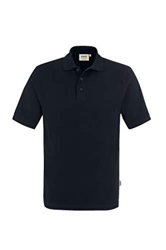 """HAKRO Polo-Shirt """"Classic"""" - 810 - schwarz - Größe: M"""