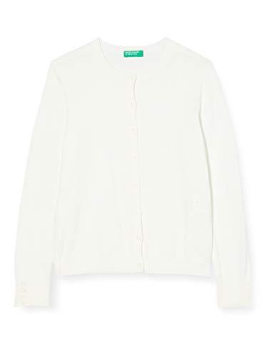 United Colors of Benetton Maglia Coreana M/L Suéter cárdigan para Niñas