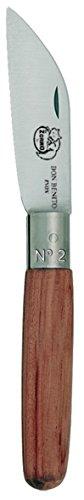 Imex El Zorro 51312-i – Couteau Coupe Droite, Couleur Marron, 10 cm