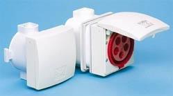 Preisvergleich Produktbild CEE - Unterputz - Steckdose IP 44,  5-polig,  400 V,  6h
