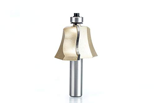 L-Yune, 1pc Frese 1/2' Shank carburo di tungsteno del Legno fresatura Filetto Cutter Trimmer Capo Slotting Incisione R-smussati (Taglia : 5062)