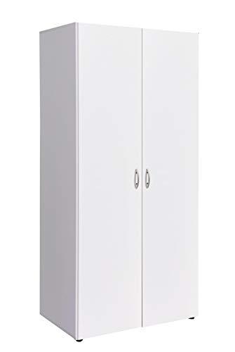 AVANTI TRENDSTORE - Armadio in Bianco, ca 81x177x52cm