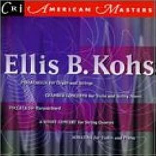 Kohs: Passacaglia/Toccata for Harpsichord/String Quartet No. 2/Chamber Concerto/Sonatina for Violin and Piano