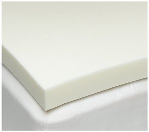 Full / Double Size 3 Inch iSoCore 3.0 Memory Foam Mattress Pad, Bed Topper, Overlay Made From 100% Temperature Sensitive Memory Foam