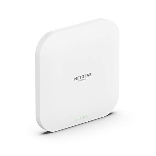 NETGEAR Wireless Access Point (WAX620) - Wi-Fi 6 Dual-Band AX3600 Speed | Up to 256 Client Devices | 1 x 2.5G Ethernet LAN Port | 802.11ax | Insight Remote Management