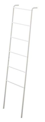 Yamazaki Home Plate Leaning Ladder Hanger closet storage and organization systems, One Size, White