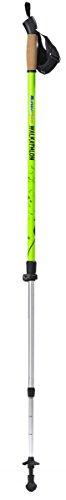 BungyPump Walkathlon pôles multifonctionnels Nordic-Walking haute qualité - avec suspension intégrée et deux niveaux de résistance réglable à 4 et 6 kg de résistance - trekking