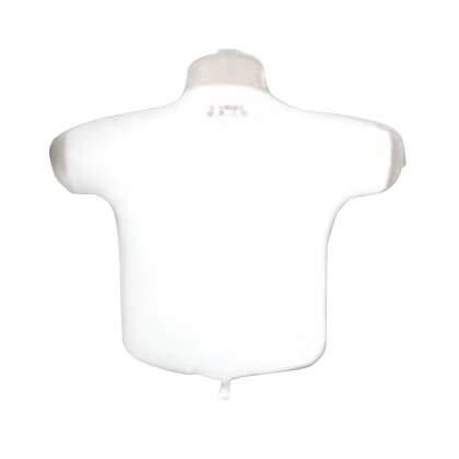 Globo T-shirt - Camiseta Blanco - Forma 38cm Foil Poliamida - R2315