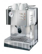 QuickMill- Steel Model 03004LO Espressomaschine (Mit Messing Siebtraeger)