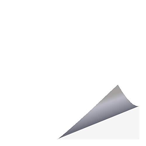 timalo® Fliesenaufkleber für Küche und Bad – alle Fliesen und Größen | 25 x 30 cm (6 Stück) weiss (glänzend)