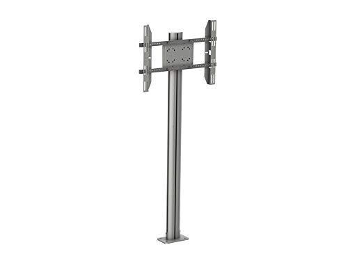 Multibrackets – Socle TV pour fixée en Sol. floormount 180-silver (180 cms de Hauteur). Gris.