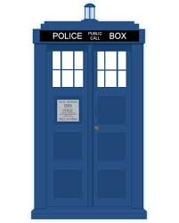 Global Accessorie 3D Tardis métal Boutons de Manchette Bleue Policephone boîte de Boutons de Manchette médecin Qui dans Une boîte Cadeau