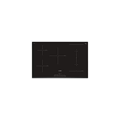 BOSCH PVW831FC5E Mesa de inducci�n combinada Inducci�n biselada 80 cm - Pantalla digital - Banda para la cabeza DirectSelect - 5 chimeneas