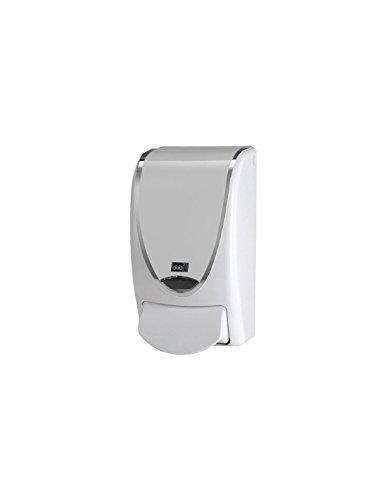 DEB Design Seifenspender für WC und Waschraum - weiß verchromt