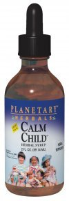 Planetary Herbals Calm Child Herbal Syrup, 4 Fluid Ounce