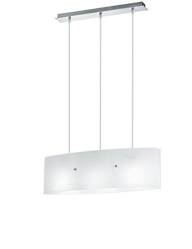 Fan Europe kroonluchter modern design E27 60W wit 140x63 halogeen