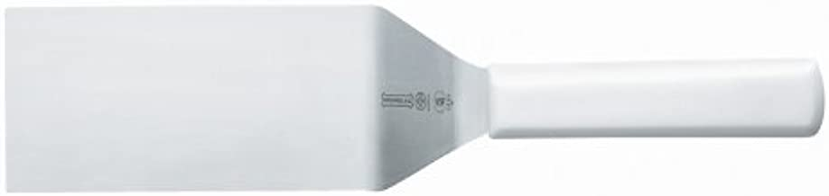 Mundial W5685 6-Inch by 3-Inch Square End Turner, White