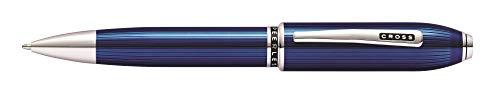 Cross Peerless Translucent Quartz Blue Ballpoint Pen