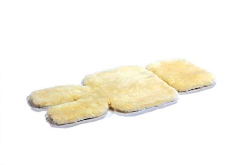 Bowron Infant Care Strapazierfähiges und weiches geschorenes Lammfell-Fleece für Kinderwagen
