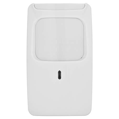 PIRセンサー 動き検出探知器 無線センサー 保証警報 ホームセキュリティー探知器 壁に取り付け 赤外線マイクロウェーブ探知器