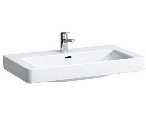 Laufen Aufsatz-Waschtisch PRO S ohne Hahnloch US geschliffen 850x460 LCC weiß, 8169654001091