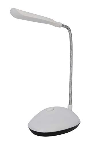 Iso Trade 5014 - Lámpara de Escritorio (4 ledes, Funciona con Pilas, luz Clara y Ligera)